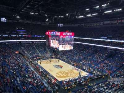 Smoothie King Center secção 311