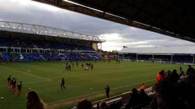 London Road Stadium, secção: Main Stand, fila: N