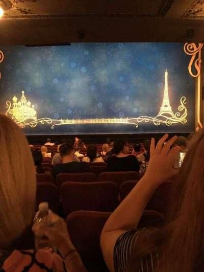 Broadhurst Theatre, secção: Orchestra, fila: P, lugar: 111