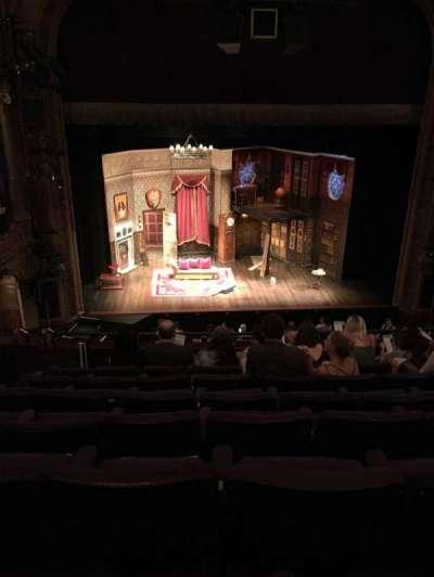 Lyceum Theatre (Broadway), secção: Mezzo, fila: G, lugar: 110
