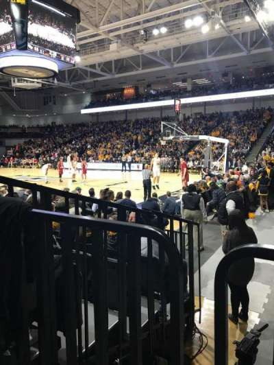 Stuart C. Siegel Center secção 21