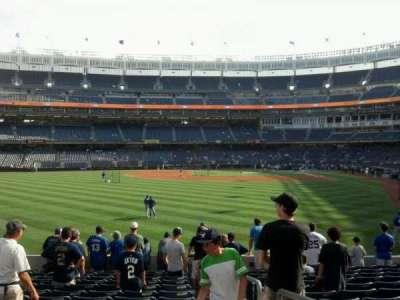 Yankee Stadium secção 135