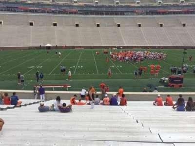 Memorial Stadium, Clemson secção G