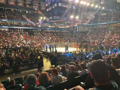 VyStar Veterans Memorial Arena, secção: H, fila: 117, lugar: 16