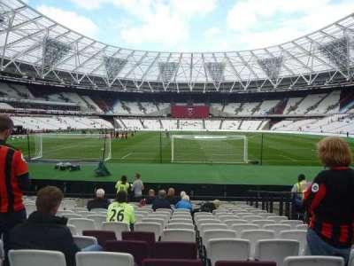 London Stadium secção 120