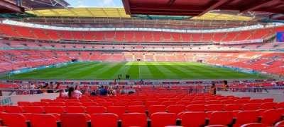 Wembley Stadium, secção: 123, fila: 41, lugar: 2