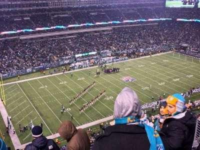 MetLife Stadium, secção: 318, fila: 12, lugar: 11