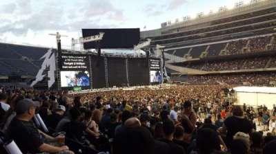 Soldier Field, secção: 136, fila: 14, lugar: 13