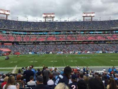 Nissan Stadium, secção: 136, fila: X, lugar: 18