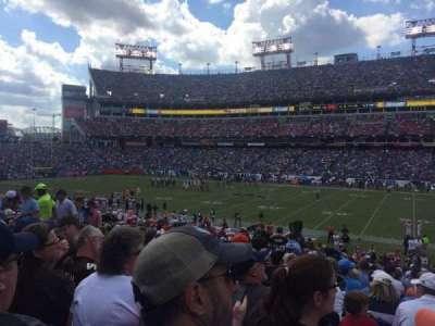 Nissan Stadium, secção: 110, fila: CC