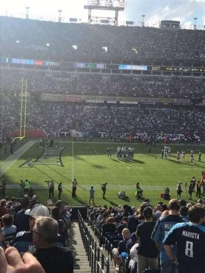 Nissan Stadium, secção: 116, fila: GG, lugar: 1