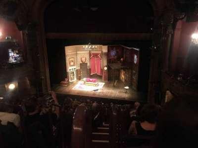 Lyceum Theatre (Broadway) secção Mezzanine R