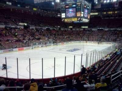 Joe Louis Arena secção 112