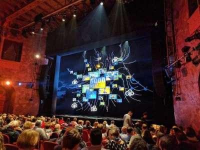 August Wilson Theatre, secção: ORCHR, fila: M, lugar: 14