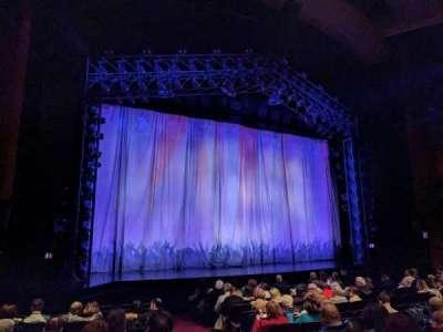 Marquis Theatre, secção: ORCH, fila: L, lugar: 1