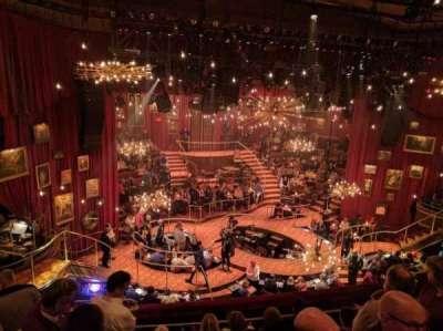 Imperial Theatre, secção: Rear Mezzanine, fila: B, lugar: 2