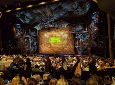 Gershwin Theatre, secção: ORCHST, fila: U, lugar: 16