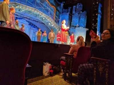 Walter Kerr Theatre, secção: ORCHL, fila: C, lugar: 1