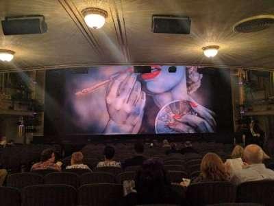 Nederlander Theatre, secção: Orchestra, fila: Q, lugar: 112
