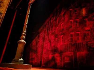 Longacre Theatre, secção: ORCHC, fila: AA, lugar: 101