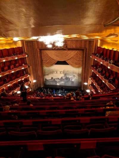 Metropolitan Opera House - Lincoln Center, secção: Family Circle, fila: J, lugar: 212