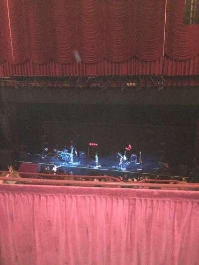 Chicago Theatre, secção: BALC3R, fila: B, lugar: 310