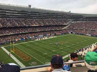 Soldier Field, secção: 444, fila: 2, lugar: 12