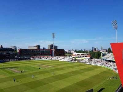 Old Trafford Cricket Ground, secção: Upper Tier, fila: Back Row