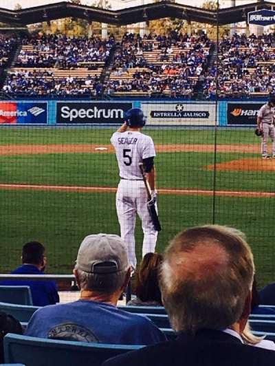 Dodger Stadium secção 7FD