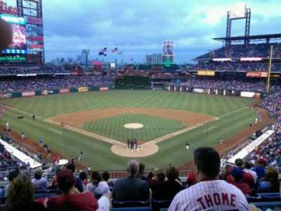 Citizens Bank Park secção 222