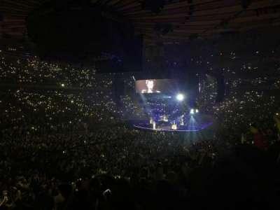 Madison Square Garden secção 105