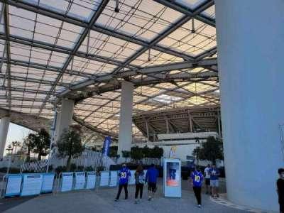 SoFi Stadium, secção: entry 10