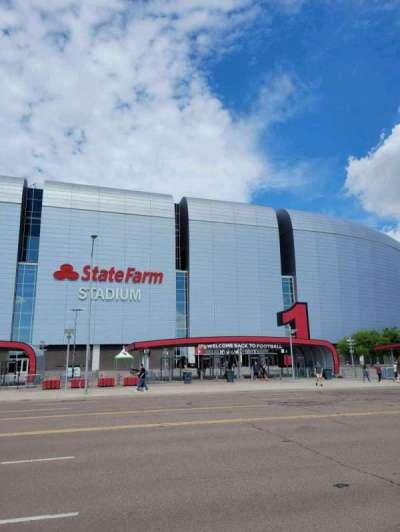 State Farm Stadium, secção: Gate 1