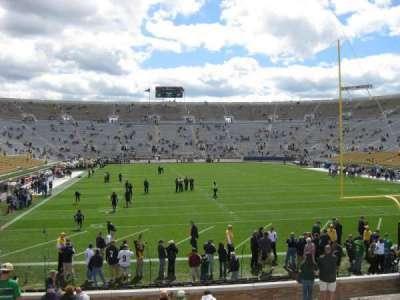 Notre Dame Stadium secção 2