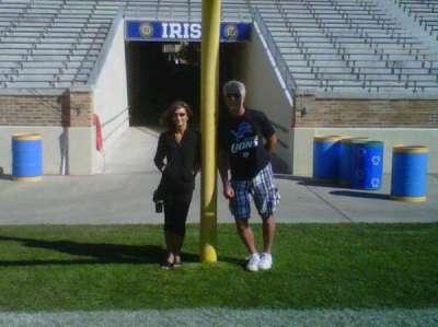 Notre Dame Stadium secção Field