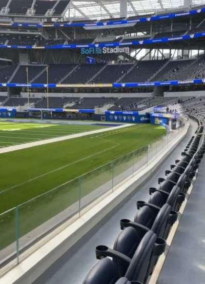SoFi Stadium secção VIP110