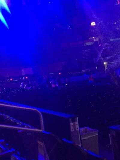 Philips Arena, secção: 113, fila: C, lugar: 3