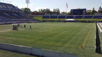Navy-Marine Corps Memorial Stadium secção unlabeled