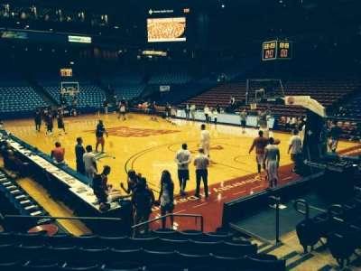 University Of Dayton Arena, secção: 110, fila: J, lugar: 7