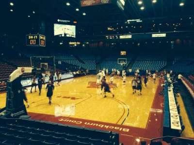 University Of Dayton Arena, secção: 116, fila: i, lugar: 1