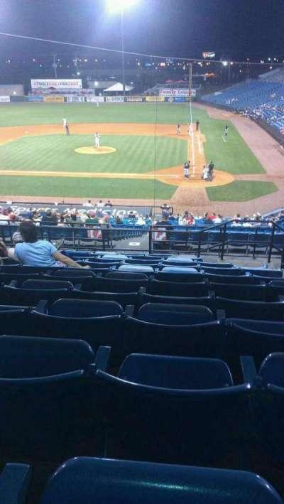 Herschel Greer Stadium, secção: QQ, fila: 11, lugar: 11