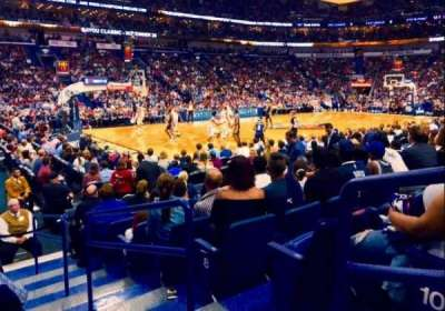 Smoothie King Center secção 103