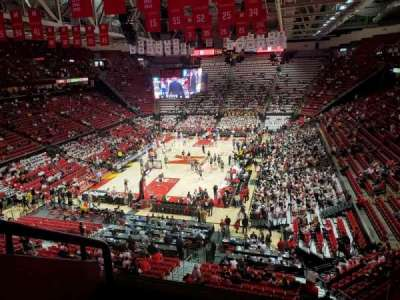 Xfinity Center (Maryland), secção: 209, fila: 3, lugar: 24