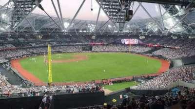 London Stadium secção 227
