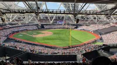 London Stadium secção 223