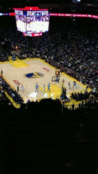 Oracle Arena, secção: 227, fila: 10, lugar: 1