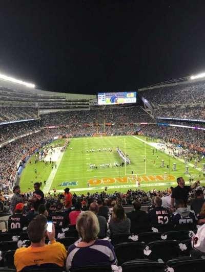 Soldier Field, secção: 353, fila: 12, lugar: 12