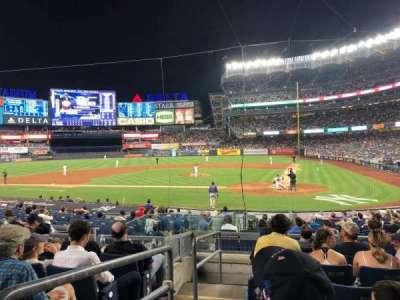 Yankee Stadium secção 121b