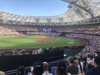 London Stadium secção 255