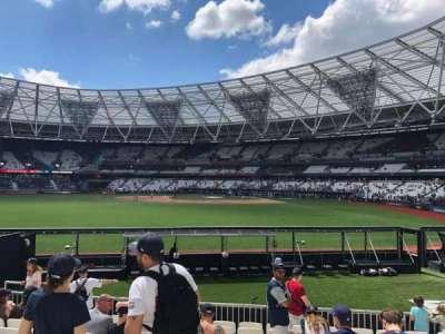 London Stadium secção 142